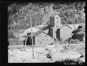 mill at camp bird mine